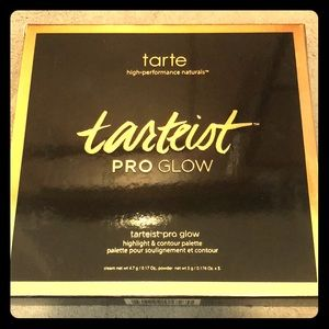 Tarte pro glow highlight and contour palette
